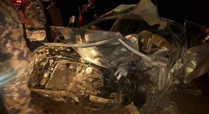 One killed, three injured in Karak road accident