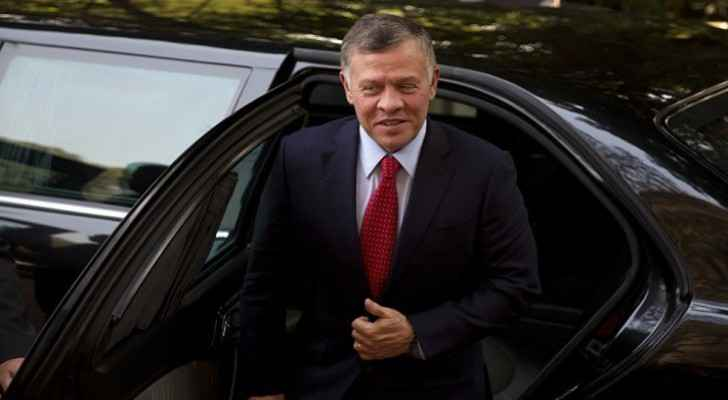 King leaves on working visit to Armenia