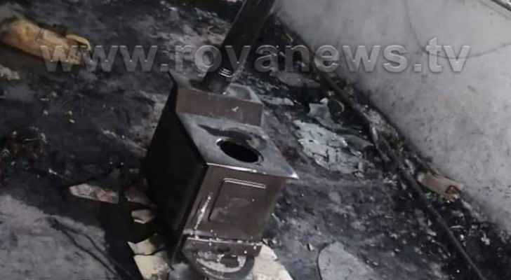 House fire in Irbid leaves girl dead, two injured