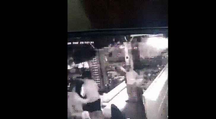 Video: Man arrested after firing gunshots inside restaurant in Amman