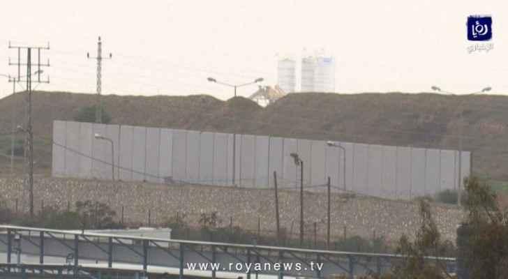 Egypt builds new wall along Gaza border