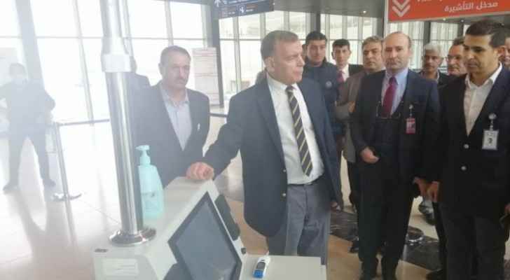 Health Minister checks on security, preventive and curative measures at QAIA