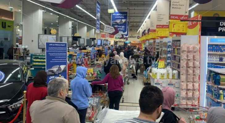 Photos: Shoppers start panic-buying as coronavirus fears continue to grow