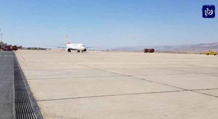 QAIA receives the last two planes before flights from and to Jordan are suspended