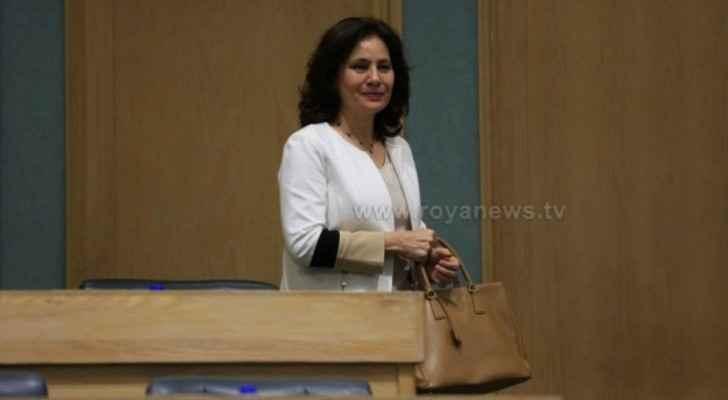 Energy Minister, Hala Zawati