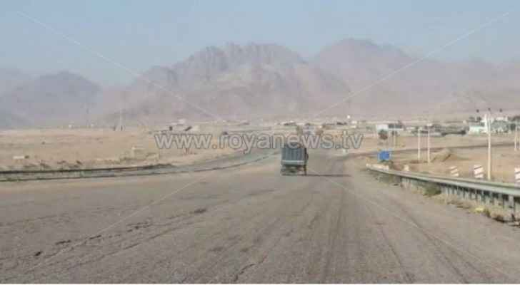 Watch: Desert Highway almost empty of vehicles amid government measures to fight COVID-19