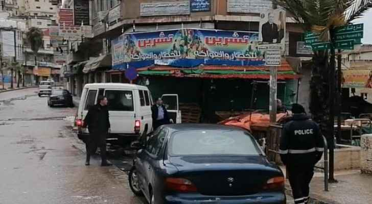 Man arrested in Ajloun for violating curfew