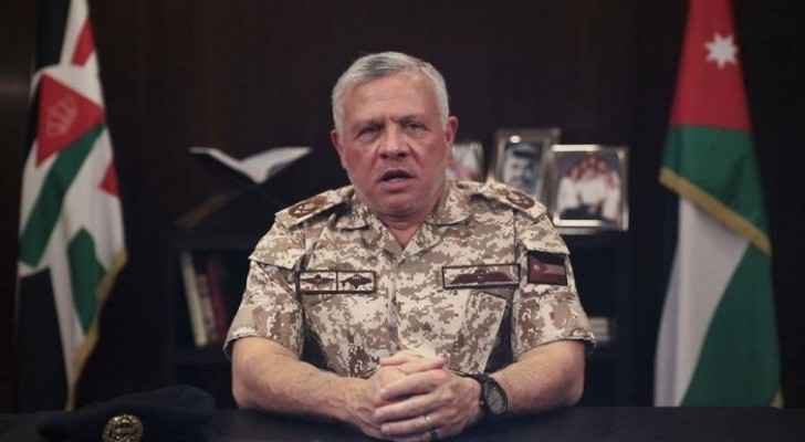King, in video message, expresses confidence in Jordanians' ability to rise to the challenge