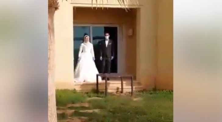 Video: Wedding party at Dead Sea hotel used as a quarantine center