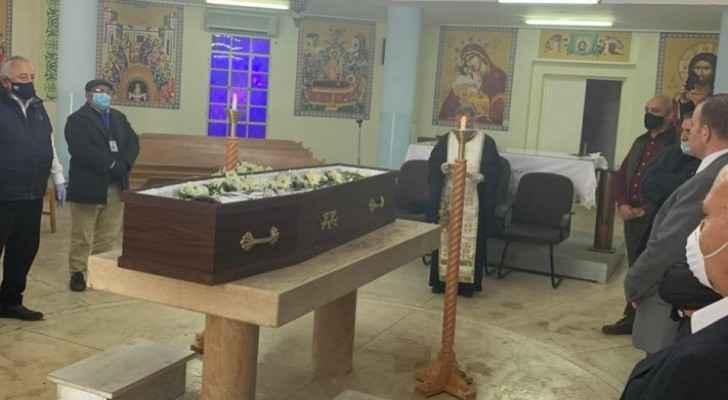 Jordanian Palestinian patriot Terez Halasa buried today
