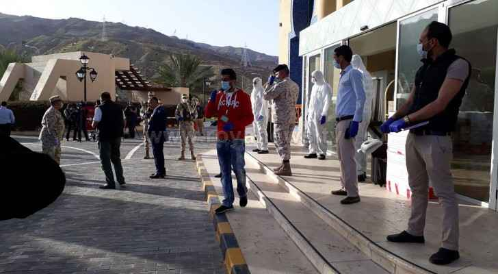People quarantined at Dead Sea, Amman hotels being discharged