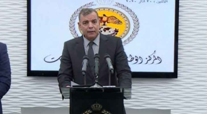 Health Minister: Jordan's borders closed until after Ramadan