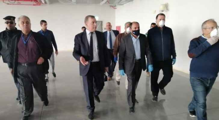 Ministers of Public Works, Health check on Bashir Hospital's expansion project