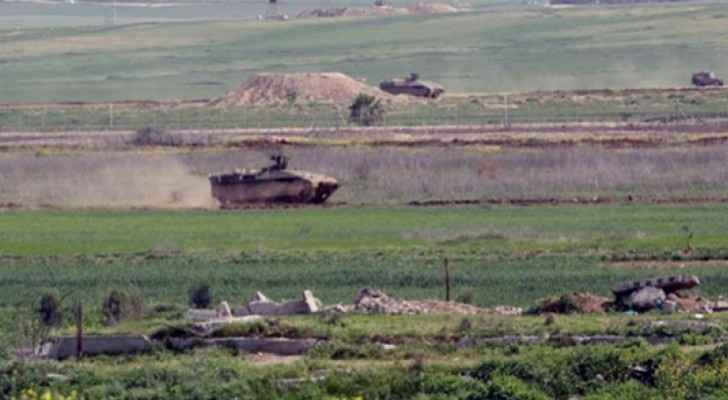 Israeli forces push deep into southern Gaza Strip