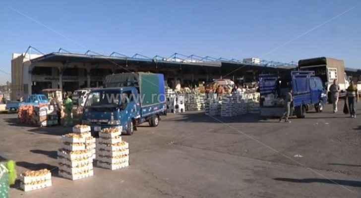 Ajloun Governor: Kufranjah vegetable market shut down until further notice