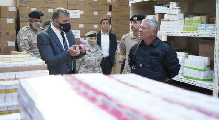 King, Crown Prince visit Royal Medical Services