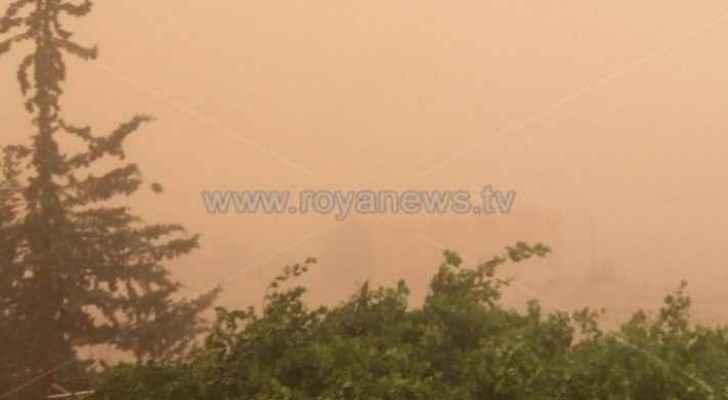 Khamasini weather depression making its way to Jordan