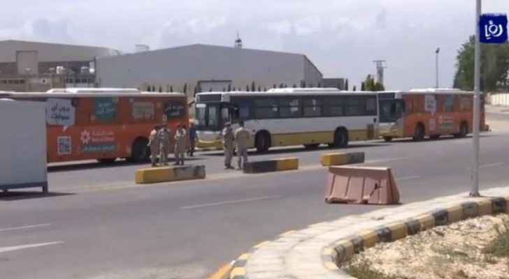 First flight bringing Jordanian students stranded abroad arrives at QAIA