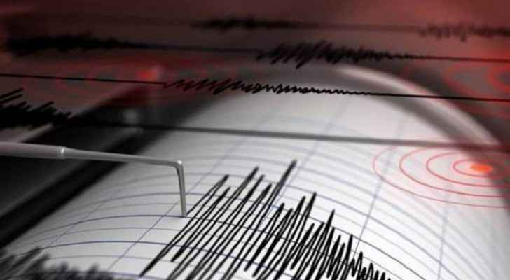 3.56 earthquake strikes Wadi Araba region