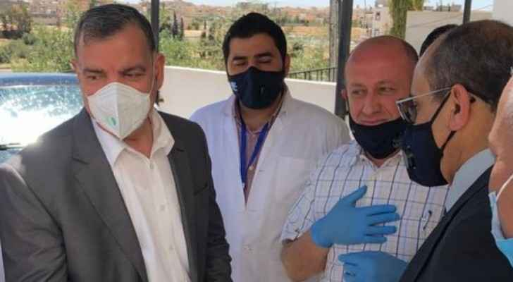 Health Minister visits Mafraq, says 140 people had direct contact with infected truck driver