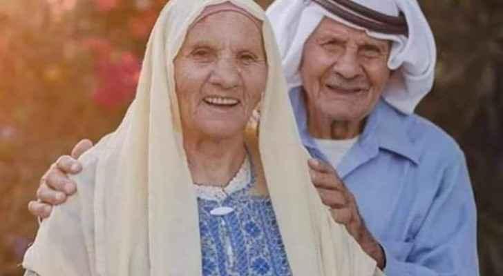 Photos: Palestinian couple celebrate 60th wedding anniversary