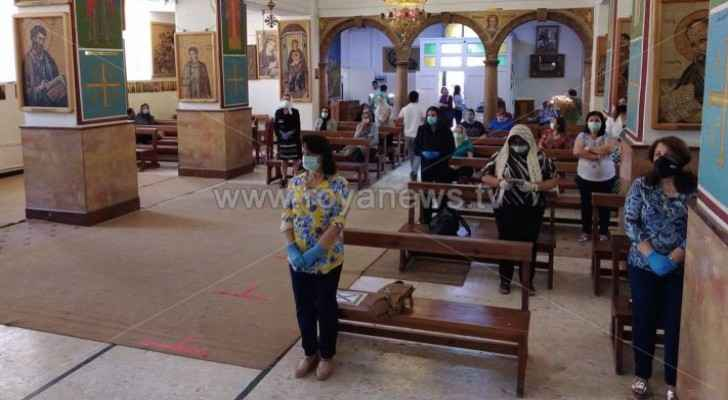 Churches in Jordan reopen for the first time in nearly 3 months