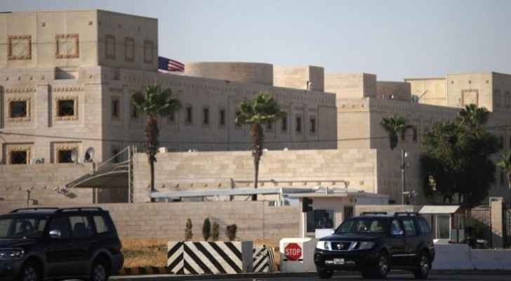 Message from U.S. Embassy for American citizens in Jordan
