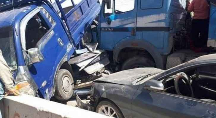 Road accident on Desert Highway leaves 4 killed, 22 injured
