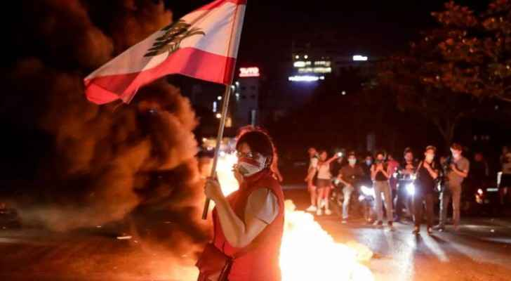 Lebanese protesters clash with police in overnight violence