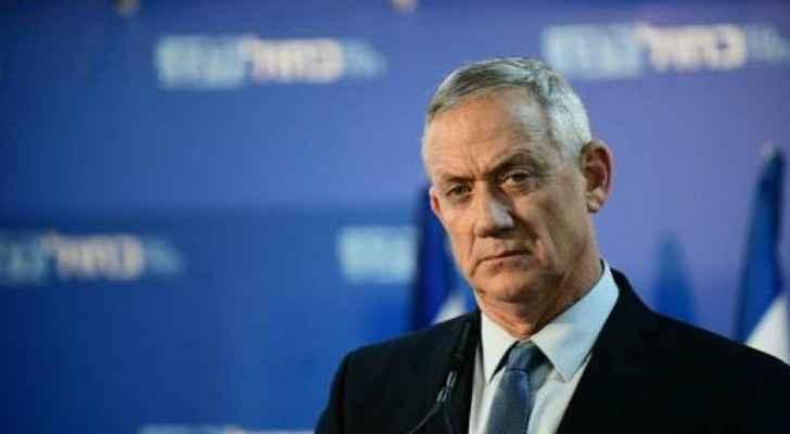 Gantz to establish sovereignty over West Bank next month