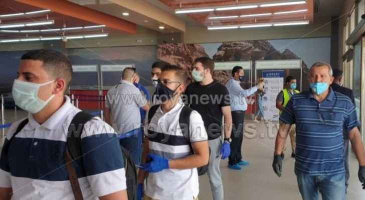 First local flight arrives in Aqaba