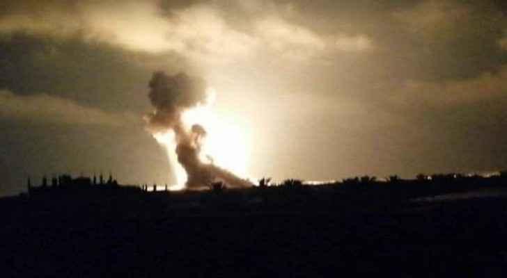 Gaza strip bombed by Israeli occupation
