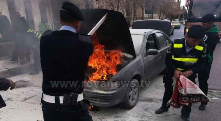 Traffic Department issues warning over vehicle fires