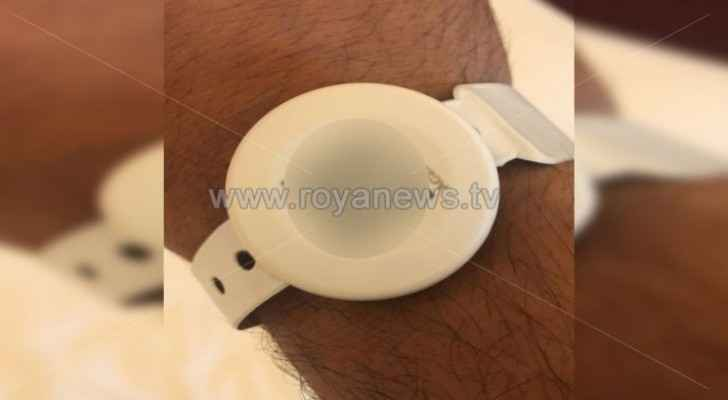 Jordan government launches COVID-19 tracker bracelets