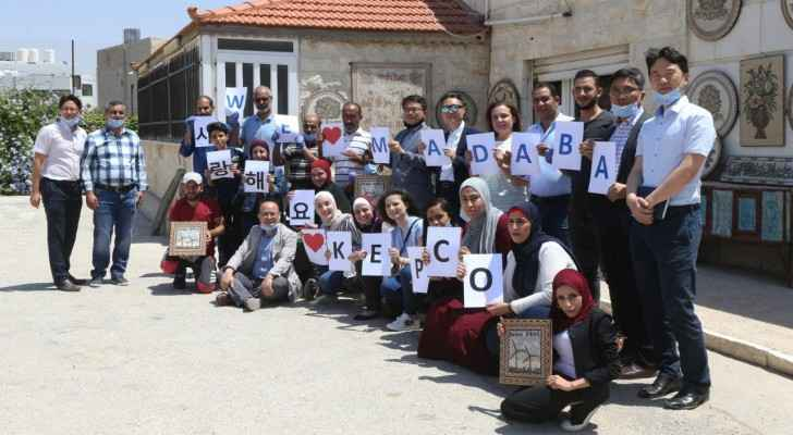 Mosaic craft project in Madaba provides glimmer of hope for Jordanians