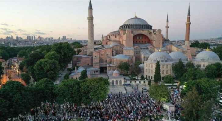 Converting Hagia Sophia to mosque is political move, say experts