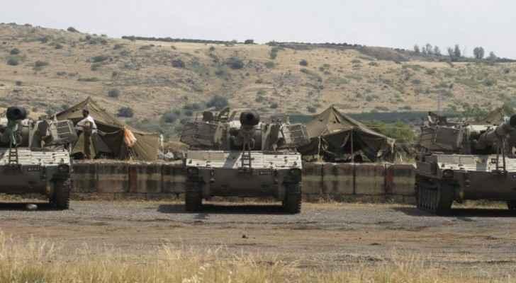 Explosion near Syria-Israel border