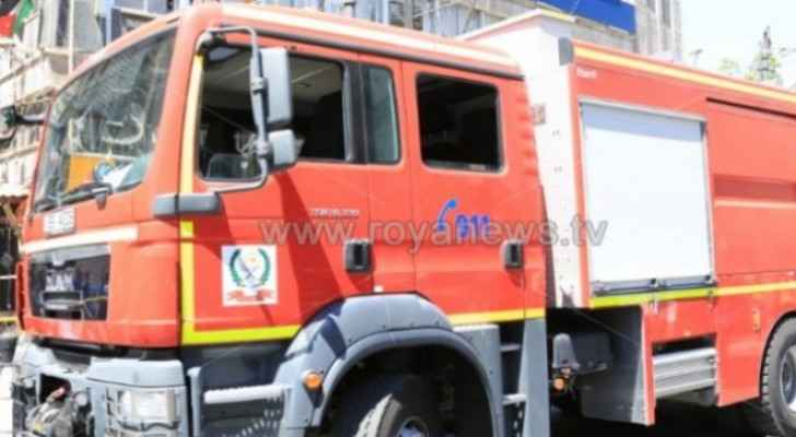 Two dead and 11 people injured in house fire in Amman