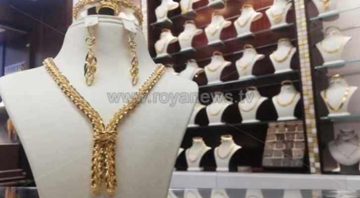 Price of gold soars in Jordan