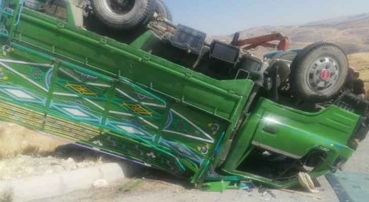 Two children killed and seven people injured in major car accident in west Amman