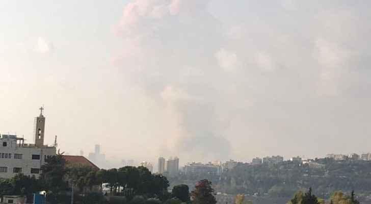 Huge blast rips through Beirut
