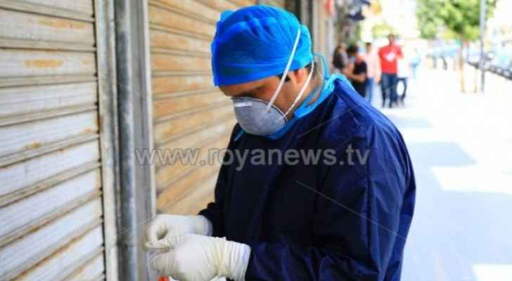Four houses isolated in Ramtha due to coronavirus
