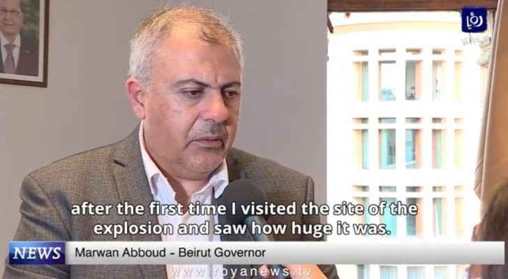 Beirut Governor: Port explosion affected half Beirut