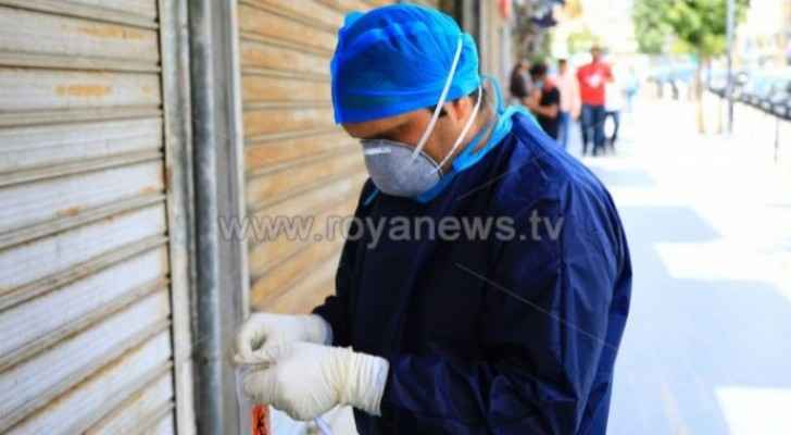 Details about positive coronavirus case in Irbid