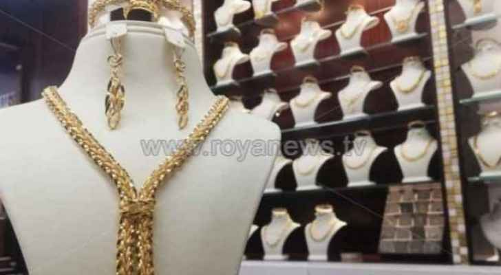 Gold prices on the rise again in Jordan
