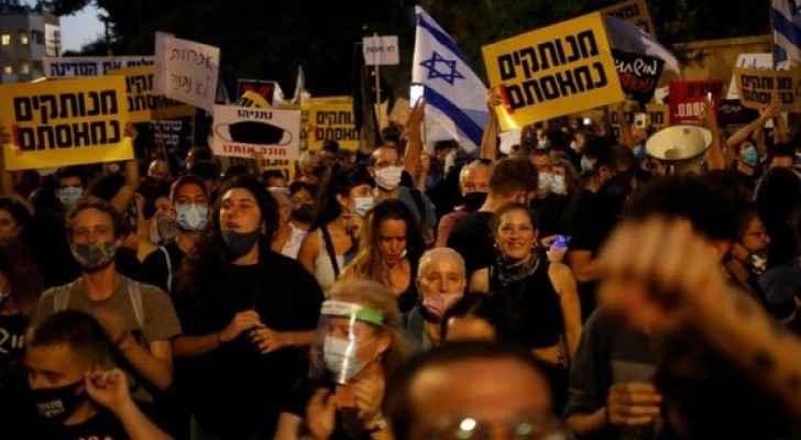 Mass demonstrations against Netanyahu in occupied Jerusalem