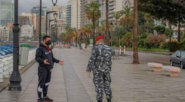 Day one of two-week lockdown in Lebanon