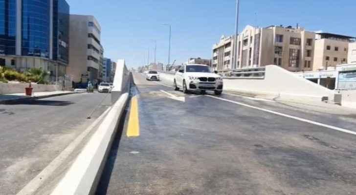 Greater Amman Municipality announces opening of Commodore Bridge