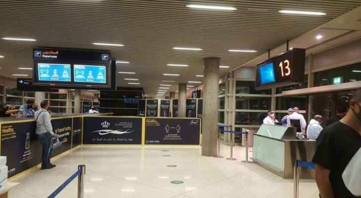141 people arrived from Turkey to Jordan following  flights resumption