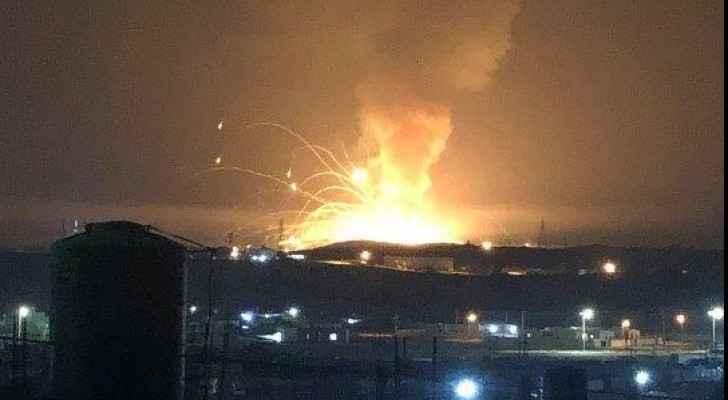 Explosion in Zarqa